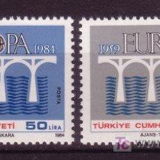 Sellos: TURQUIA 2425/26** - AÑO 1984 - EUROPA. Lote 26495205