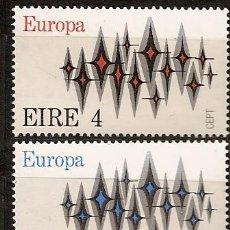 Sellos: IRLANDA,EUROPA-CEPT 1972,SERIE COMPLETA,NUEVA CON GOMA.. Lote 27565484