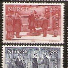 Sellos: NORUEGA,EUROPA-CEPT 1982,SERIE COMPLETA,NUEVA CON GOMA.. Lote 7911297