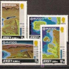 Sellos: JERSEY,EUROPA-CEPT 1982,SERIE COMPLETA,NUEVA CON GOMA.. Lote 13797394
