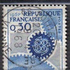Sellos: FRANCIA 1967 - 0,3 F YVERT 1521 - USADO. Lote 8106904