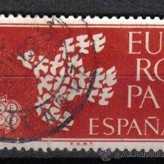 Sellos: ESPAÑA 1961 1 P EDIFIL 1371. RAPTO DE EUROPA POR ZEUS. Lote 8145871