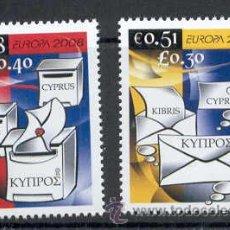 Sellos: CHIPRE 2008. EUROPA. CARTAS. Lote 9675009