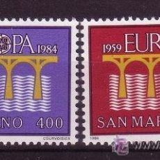 Sellos: SAN MARINO 1090/91*** - AÑO 1984 - EUROPA. Lote 21893515