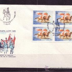 Sellos: AZORES SPD 331 - AÑO 1981 - EUROPA - FOLKLORE. Lote 15323238