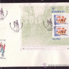 Sellos: AZORES SPD HB 2 - AÑO 1981 - EUROPA - FOLKLORE. Lote 15323271