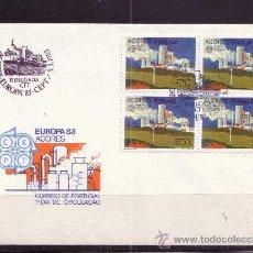 Sellos: AZORES SPD 345 - AÑO 1983 - EUROPA - GRANDES OBRAS DE LA HUMANIDAD. Lote 15323335