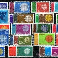 Sellos: TEMA EUROPA AÑO 1970 COMPLETO***. Lote 27099551