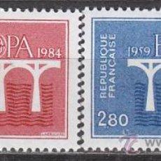 Sellos: FRANCIA IVERT Nº 2309/10, EUROPA 1984, NUEVOS. Lote 17096727