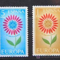 Sellos: EUROPA ESPAÑA 1964 SELLOS NUEVOS MNH VAR-10. Lote 19453970