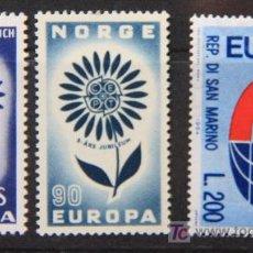 Sellos: EUROPA 1964 SELLOS NUEVOS MNH VAR-11. Lote 19454009