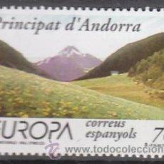 Sellos: ANDORRA EDIFIL Nº 272, EUROPA 1999: PARQUE NATURAL DE VALL D'INCLES, NUEVO. Lote 25739040