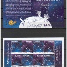 Timbres: CHIPRE 2009 - CARNET EUROPA 2009 - ASTRONOMIA . Lote 24150059