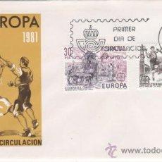 Sellos: EUROPA-CEPT.-1981. Lote 24308598