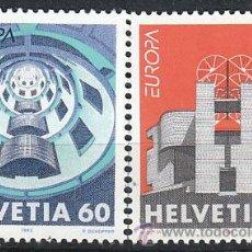 Sellos: SUIZA IVERT 1428/9, EUROPA 1993 (ARQUITECTURA CONTEMPORANEA), NUEVO. Lote 25774085