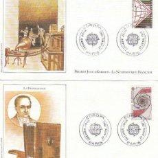 Sellos: FRANCIA, EUROPA 1983, FOTOGRAFIA Y CINE, PRIMER DIA DE 29-4-1983. Lote 25793683