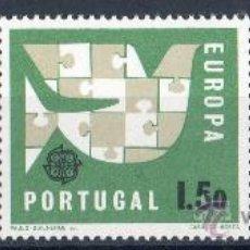 Sellos: PORTUGAL AÑO 1963 YV 929/31*** EUROPA - PALOMA DE LA PAZ - AVES. Lote 31945597