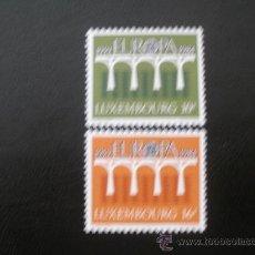 Sellos: LUXEMBURGO 1984 IVERT 1048/9 *** EUROPA - 25º ANIV. CONFERENCIA EUROPEA CORREOS Y TELECOMUNICACIONES. Lote 34001485