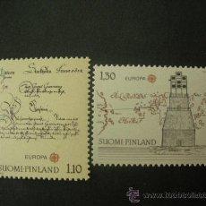 Sellos: FINLANDIA 1979 IVERT 806/7 *** EUROPA - HISTORIA POSTAL. Lote 34040626