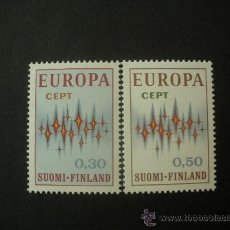 Sellos: FINLANDIA 1971 IVERT 665/6 *** EUROPA . Lote 34040646
