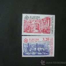 Sellos: ANDORRA FRANCESA 1990 IVERT 388/9 *** EUROPA - EDIFICIOS POSTALES. Lote 34547782