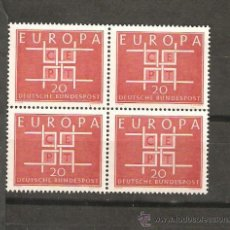 Sellos: LOTE Z2 SELLOS NUEVOS ALEMANIA EUROPA CEPT. Lote 104145024