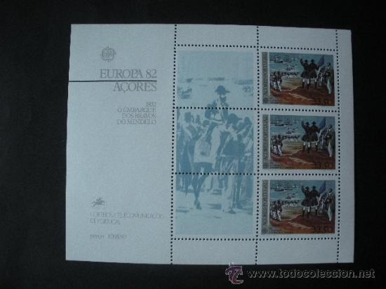 AZORES 1982 HB IVERT 3 *** EUROPA - HECHOS HISTÓRICOS (Sellos - Temáticas - Europa Cept)