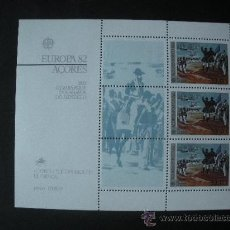 Sellos: AZORES 1982 HB IVERT 3 *** EUROPA - HECHOS HISTÓRICOS. Lote 36152157