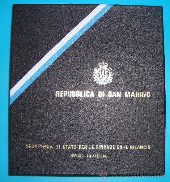 ALBUM DE SELLOS DE SAN MARINO TEMATICO, EUROPA CEPT AÑO 1987 (Sellos - Temáticas - Europa Cept)
