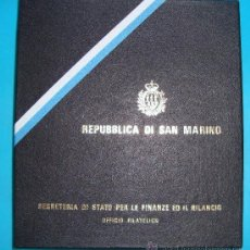 Sellos: ALBUM DE SELLOS DE SAN MARINO TEMATICO, EUROPA CEPT AÑO 1987 . Lote 36536977