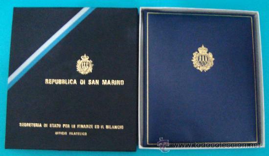 Sellos: ALBUM de sellos DE SAN MARINO TEMATICO, EUROPA CEPT año 1987 - Foto 2 - 36536977