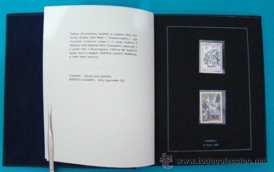 Sellos: ALBUM de sellos DE SAN MARINO TEMATICO, EUROPA CEPT año 1987 - Foto 8 - 36536977