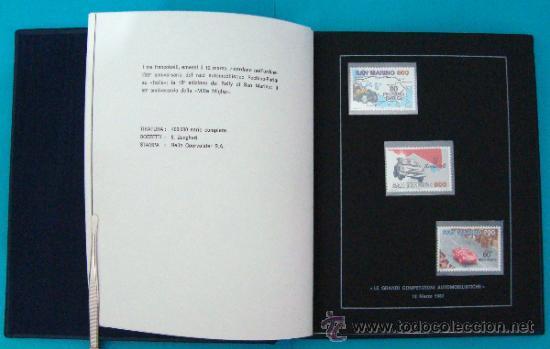 Sellos: ALBUM de sellos DE SAN MARINO TEMATICO, EUROPA CEPT año 1987 - Foto 10 - 36536977