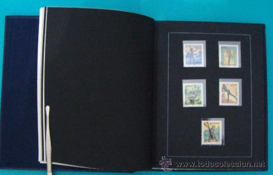 Sellos: ALBUM de sellos DE SAN MARINO TEMATICO, EUROPA CEPT año 1987 - Foto 14 - 36536977