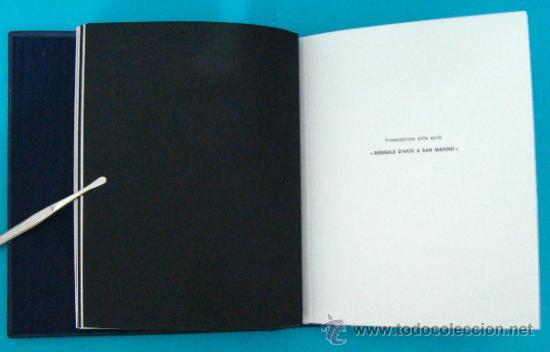 Sellos: ALBUM de sellos DE SAN MARINO TEMATICO, EUROPA CEPT año 1987 - Foto 15 - 36536977