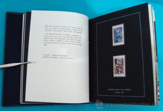 Sellos: ALBUM de sellos DE SAN MARINO TEMATICO, EUROPA CEPT año 1987 - Foto 16 - 36536977