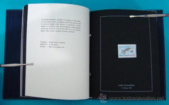 Sellos: ALBUM de sellos DE SAN MARINO TEMATICO, EUROPA CEPT año 1987 - Foto 18 - 36536977