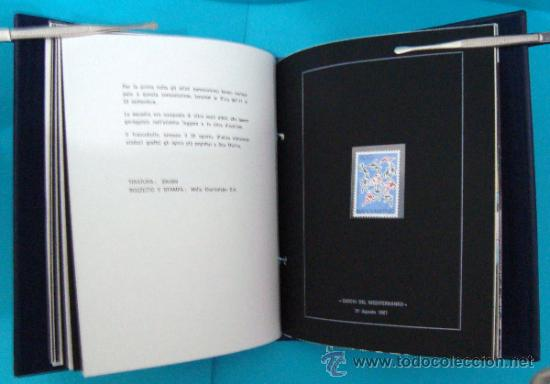 Sellos: ALBUM de sellos DE SAN MARINO TEMATICO, EUROPA CEPT año 1987 - Foto 23 - 36536977