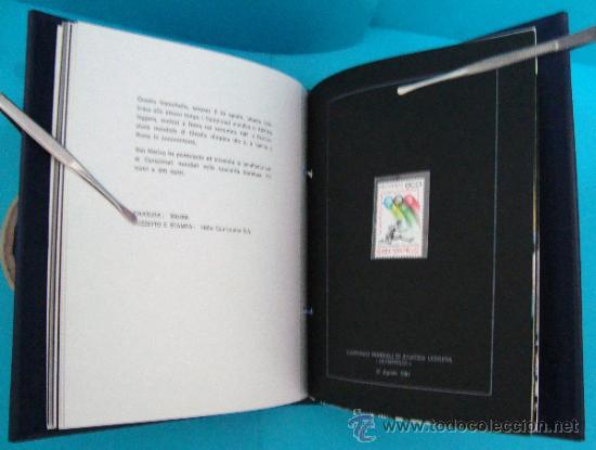Sellos: ALBUM de sellos DE SAN MARINO TEMATICO, EUROPA CEPT año 1987 - Foto 25 - 36536977
