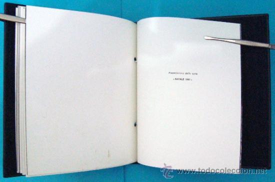 Sellos: ALBUM de sellos DE SAN MARINO TEMATICO, EUROPA CEPT año 1987 - Foto 30 - 36536977