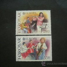 Sellos: FEROE 1985 IVERT 110/1 *** EUROPA - AÑO EUROPEO DE LA MÚSICA. Lote 37203943