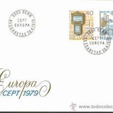 Sellos: EUROPA / HELVETIA 1979. Lote 37258211