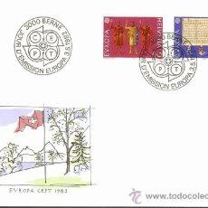 Sellos: EUROPA / HELVETIA 1982. Lote 37258273