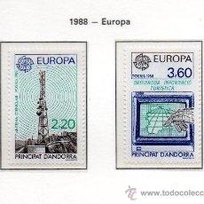 Sellos: ANDORRA FRANCESA=YVERT Nº 369/70=TEMA EUROPA=AÑO 1988=. Lote 37331084