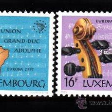 Sellos: LUXEMBURGO 1075/76** - AÑO 1985 - EUROPA - AÑO EUROPEO DE LA MUSICA. Lote 38805364