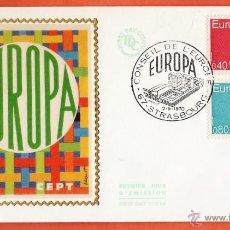 Stamps - europa / cept - francia - en sobre con matasello especial - serie completa - año 1970 - rd22 - 42856771
