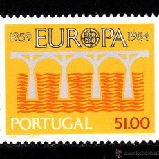 Sellos: PORTUGAL 1609** - AÑO 1984 - EUROPA. Lote 268174884