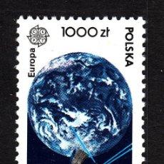 Sellos: POLONIA 3126** - AÑO 1991 - EUROPA - EUROPA Y EL ESPACIO. Lote 42926046