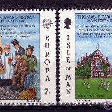 Sellos: SERIE COMPLETA ISLE OF MAN AÑO 1980 EUROPA CEPT NUEVA. Lote 43595151