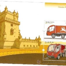 Sellos: PORTUGAL ** & EUROPA, VEÍCULOS POSTAIS 2013. Lote 45303399
